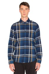 Deus Ex Machina Albie Shirt Blue