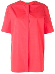 Nina Ricci Wide Sleeve Blouse Pink And Purple