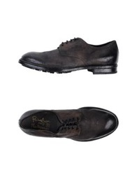 Primabase Lace Up Shoes Steel Grey