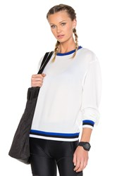 Work By Lovers Friends Luxe Pullover White