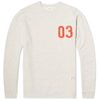 Bedwin And The Heartbreakers Q Tip Big Crew Sweat Ivory