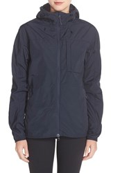 Fjall Raven Women's Fj Llr Ven 'High Coast' Hooded Windbreaker Navy