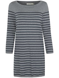 Seasalt Megrim Dress Grey Fathom Stripe