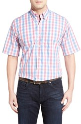Men's Peter Millar 'Nantucket Windowpane Plaid' Regular Fit Sport Shirt