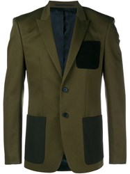 Givenchy Tailored Jacket Green