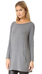 Bb Dakota Cash Tunic Medium Heather Grey