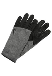 Nike Performance Sphere Gloves Black Heather Grey Anthracite