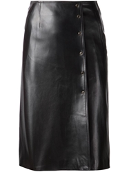 Fleur Du Mal Leather Pencil Skirt