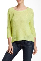 Fate Loose Knit Sweater Green