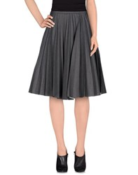 J.W.Anderson Skirts Knee Length Skirts Women Grey