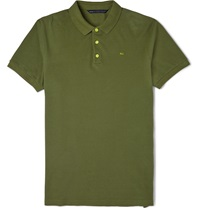 Marc By Marc Jacobs Slim Fit Cotton Pique Polo Shirt Green