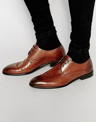 Hugo By Hugo Boss Derby Shoes Brown