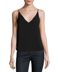 State Of Being Natasha V Neck Cami Black
