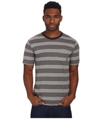 Brixton Hilt S S Pocket Knit Heather Grey Men's Short Sleeve Pullover Gray