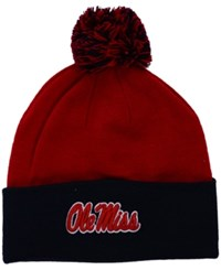 Top Of The World Mississippi Rebels 2 Tone Pom Knit Hat