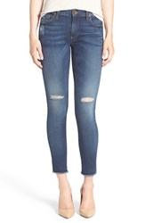Kut From The Kloth Women's 'Connie' Ripped Ankle Skinny Jeans