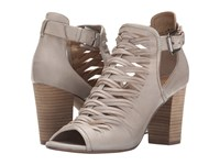 Chinese Laundry Tatiana Dove Leather Women's Toe Open Shoes Beige
