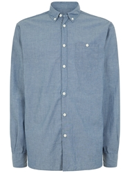 Jaeger Chambray Regular Fit Shirt Chambray