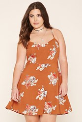 Forever 21 Plus Size Floral Cami Dress