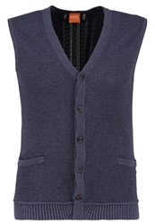 Boss Orange Kralito Cardigan Dark Blue