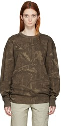 Yeezy Season 3 Brown Camo Thermal Pullover