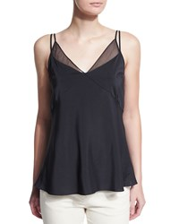 Brunello Cucinelli Layered Silk Camisole Top Volcano Men's Size Xx Small