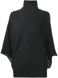 Kolor Bat Sleeve Sweater Black