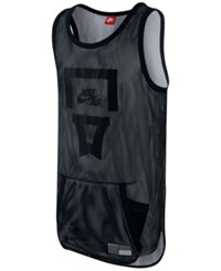 Nike Men's Air Pivot V3 Mesh Jersey Black White