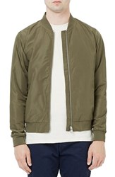 Topman Men's Lightweight Bomber Jacket Olive