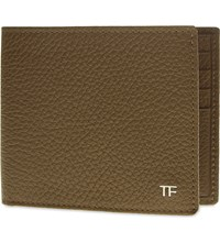 Tom Ford Grained Leather Billfold Wallet Coppertone