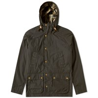 Barbour Hooded Bedale Jacket Green