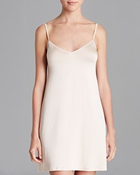 Hanro Satin Deluxe Slip Dress Natural