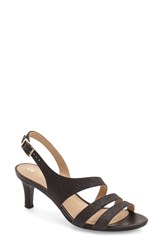 Women's Naturalizer 'Tami' Sandal Black Glitter