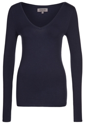Zalando Essentials Long Sleeved Top Dark Blue