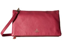 Vivienne Westwood Spencer Fuchsia Cross Body Handbags Pink