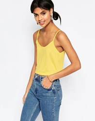 Asos The Festival Cami Yellow