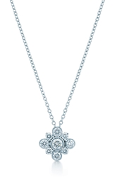 Kwiat 'Petal' Diamond Pendant Necklace White Gold