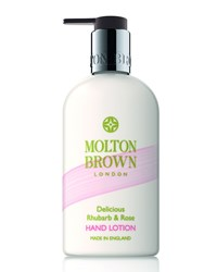 Delicious Rhubarb And Rose Hand Lotion 300 Ml 10 Fl. Oz. Molton Brown