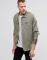 Lee Slim Herringbone Worker Jacket Vetiver Green