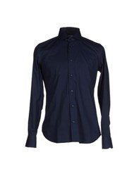 Liu Jo Jeans Shirts Shirts Men Dark Blue