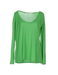 Jucca Topwear T Shirts Women Green