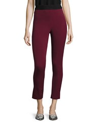 Highline Collective Cotton Stretch Leggings Burgundy