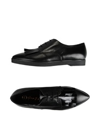 George J. Love Lace Up Shoes Black