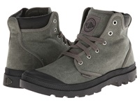 Palladium Pampa Hi Cuff Stonewsahed Metal Men's Lace Up Casual Shoes Gray