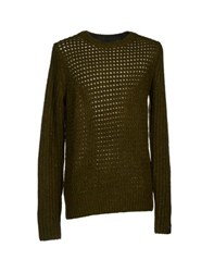 Karl By Karl Lagerfeld Knitwear Jumpers Men Military Green