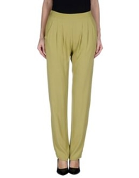 Roberto Collina Casual Pants Acid Green