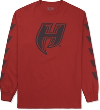 Hall Of Fame Red Respect L S T Shirt