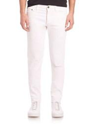 The Kooples Slim Fit Jeans White