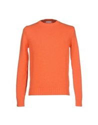 Manipur Cashmere Sweaters Orange