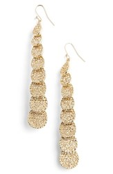 Women's St. John Collection Pave Swarovski Crystal Drop Earrings